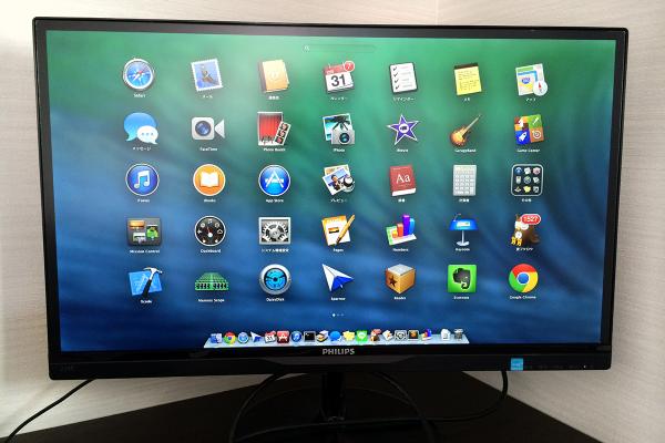 09 600x400 Macと相性抜群な「PHILIPS 21.5型/23型 IPS液晶ワイドディスプレイ」で作業効率化! 写真15枚レビュー&5つのお薦めポイント
