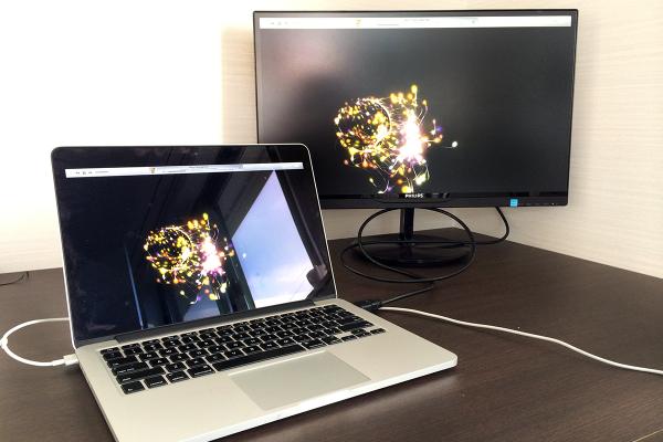 10 600x400 Macと相性抜群な「PHILIPS 21.5型/23型 IPS液晶ワイドディスプレイ」で作業効率化! 写真15枚レビュー&5つのお薦めポイント
