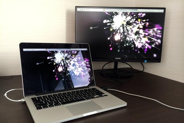 12 600x400 Macと相性抜群な「PHILIPS 21.5型/23型 IPS液晶ワイドディスプレイ」で作業効率化! 写真15枚レビュー&5つのお薦めポイント