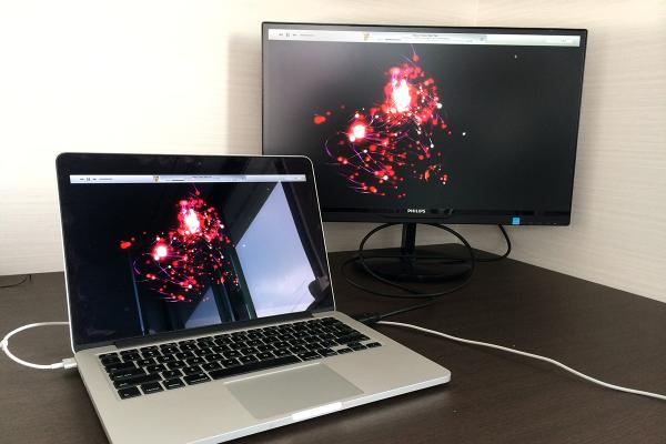 14 600x400 Macと相性抜群な「PHILIPS 21.5型/23型 IPS液晶ワイドディスプレイ」で作業効率化! 写真15枚レビュー&5つのお薦めポイント